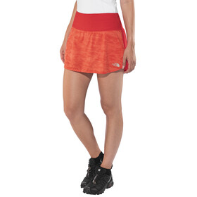 The North Face W's Flight Better Than Naked Skirt Fiery Coral Digicamo Print